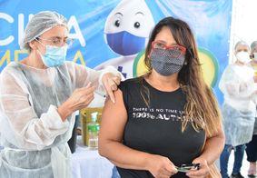 Vacinação em Campina Grande, no Agreste