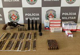 Homem é preso com mais de 200 munições e anabolizantes em João Pessoa