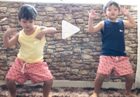Vídeo: gêmeos fazem sucesso dançando na web