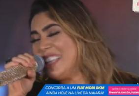 AO VIVO: Naiara Azevedo canta os maiores sucessos em live na internet