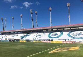 Estádio Rei Pelé, em Alagoas