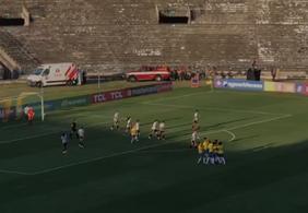 Brasil x Argentina: web critica conservação de estádio durante amistoso na PB