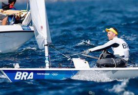 Robert Scheidt termina participação se sua sétima olimpíada sem pódio