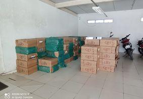 Apreendida carga de mais de 1,3 milhões de cigarros contrabandeados na PB