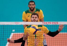 Brasil tem vitória apertada contra França no vôlei masculino