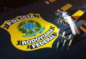 Suspeito de extorsão é preso com armamento ilegal na Paraíba