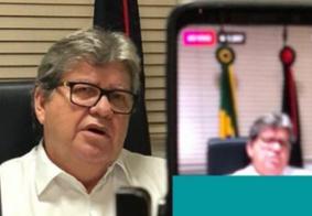 Ao vivo, João Azevedo dá detalhes sobre novo decreto e retomada econômica; acompanhe