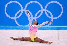 Rebeca Andrade é quinta no solo e encerra sua participação em Tóquio com duas medalhas