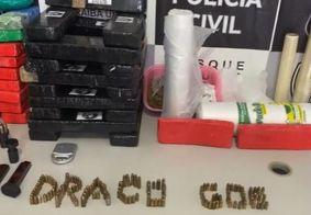 Sete pessoas são presas e 50 kg de drogas apreendidos durante operação na PB