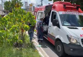 Motociclista venezuelano sofre traumatismo craniano após acidente em JP