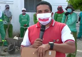 Sindicato retira agentes de limpeza que estavam trabalhando em cemitério de JP sem EPIs