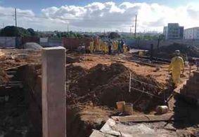 Trabalhador é soterrado durante obra em João Pessoa