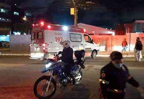 Colisão entre moto e bicicleta deixa dois feridos na Zona Sul de João Pessoa