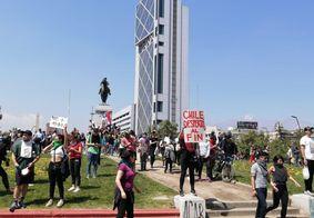 Correspondente do Portal T5 relata caos durante manifestações no Chile; veja