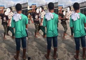 Vídeo mostra momento em que adolescente esfaqueia colega após briga em escola na PB