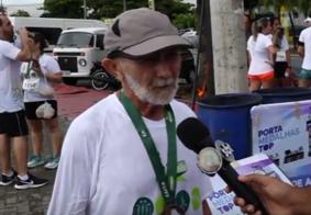 """""""Esse é o melhor plano de saúde que existe"""", diz corredor de 70 anos sobre o esporte"""