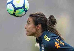 Marta vai ganhar estátua ao lado de Pelé no Museu da Seleção Brasileira