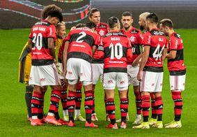 O Flamengo atropelou o Grêmio pelo placar de 4 a 0