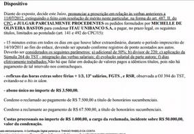 Com base na nova lei trabalhista, juiz condena ex-funcionária de banco a pagar R$ 67,5 mil