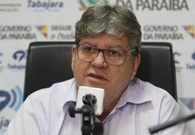 João Azevedo e outros 16 governadores pedem prorrogação do estado de calamidade
