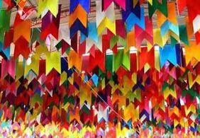 Rápido, fácil e barato: veja como fazer bandeirinhas de São João