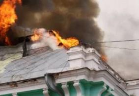 Incêndio começou no telhado do hospital