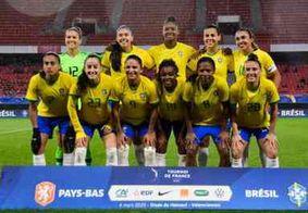 Brasil enfrenta França em torneio internacional neste sábado