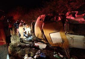 Capotamento mata motorista de caminhão-pipa, na PB
