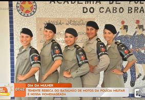 Tenente Rebeca: policial, estudante de medicina e vencedora!