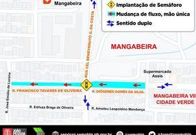 Alterações do trânsito realizadas pela Semob