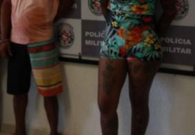 Grupo tenta fugir, mas é preso com drogas no Centro de João Pessoa