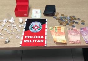 Homem é preso com drogas em lava jato na comunidade São Rafael, em JP