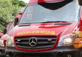 Capotamento no Litoral Sul da PB deixa cinco pessoas feridas, entre elas uma criança