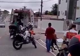 Segue estável criança atingida por moto no bairro Mandacaru, em João Pessoa