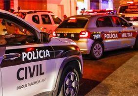 Presa dupla suspeita de cometer triplo homicídio em João Pessoa