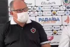 """Apresentado no Botafogo-PB, Marcelo Vilar fala em """"crescer nas dificuldades"""""""