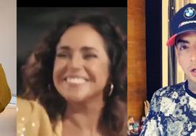 Marília Mendonça, Daniela Mercury e MC Guimê são atrações nas lives deste sábado (9)