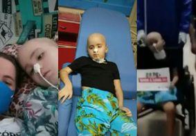 Após vencer o câncer, pequeno paraibano ganha guerra contra a Covid-19; confira