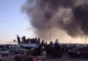 Guerra entre milícias provoca fechamento de aeroporto