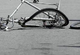 Ciclista de 15 anos é arremessado durante acidente com caminhonete em João Pessoa