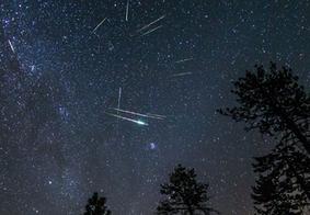 Chuva de meteoros poderá ser vista do Nordeste