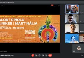 Após convite da banda Coldplay, PB articula participação no Global Citizen Live