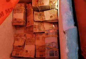 Vídeo: polícia atira e evita fuga de assaltante que levava R$ 150 mil dentro de bolsa térmica