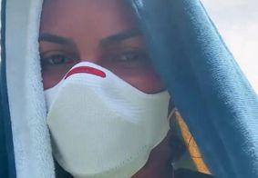 Paraibana Jucilene Lima relatou calor no Sertão