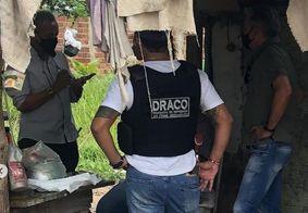Agentes da Delegacia de Lagoa Seca auxiliaram na prisão do suspeito