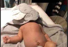 """Mayra Cardi é detonada por vídeo da filha com o rosto coberto: """"Vai sufocá-la"""""""