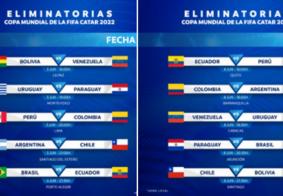 Conmebol confirma dias e horários do retorno das Eliminatórias