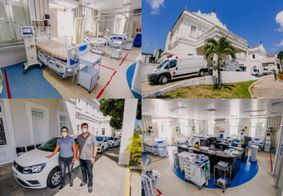 João Pessoa abre mais 10 leitos de UTI Covid-19 e adquire 20 veículos