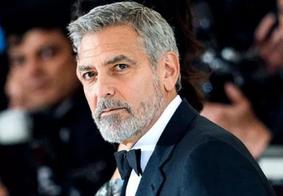 """George Clooney diz que é uma """"má ideia"""" ser padrinho do filho de Meghan Markle e Harry"""