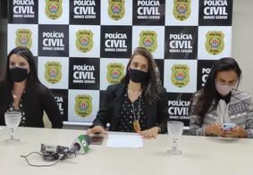 Equipe da Policia Civil após prisão do pastor